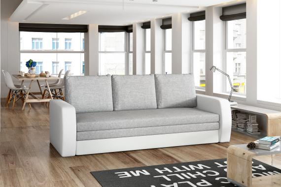 ZENIT moderní rozkládací pohovka s úložným prostorem
