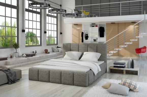 ATLANTIC moderní čalouněná postel | 3 rozměry