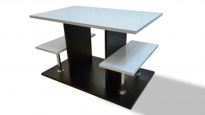 AGAMY konferenčný stolík s LED osvetlením