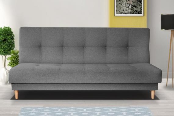 DARLING rozkládací pohovka s úložným prostorem ve skandinávském stylu