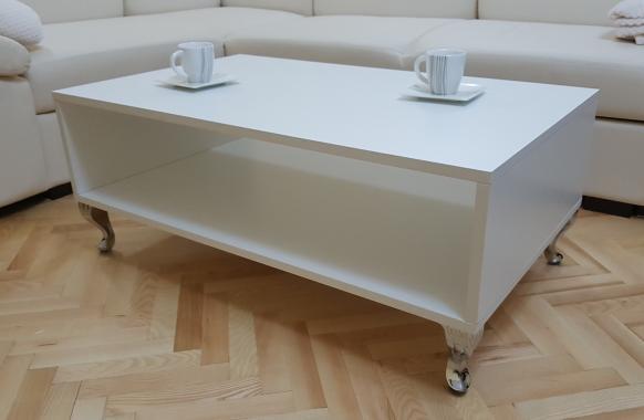 ROSTOCK MAXI konferenční stolek s LED osvětlením