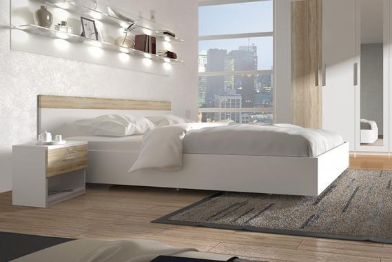 ALEX manželská postel 160x200 cm