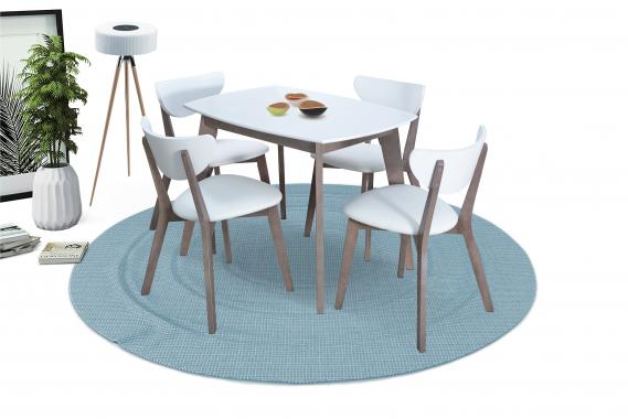 Jedálenská zostava 51 | jedálenský stôl + 4x stoličky
