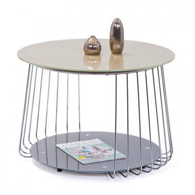 RIVA kulatý konferenční stolek v industriálním stylu
