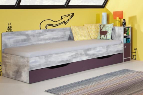 CHIP CH12A dětská postel s úložným prostorem