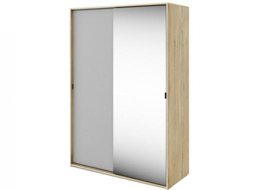 MEET ME MT-02 detská šatníková skriňa so zrkadlom a posuvnými dverami