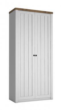 FRANCE 2D šatní skříň v provensálském stylu