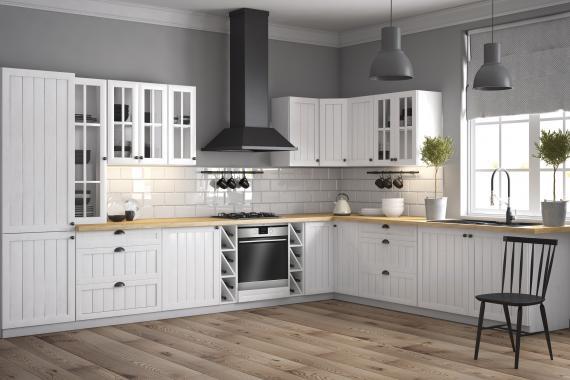 FRANCE systémová kuchyňská linka v provensálském stylu