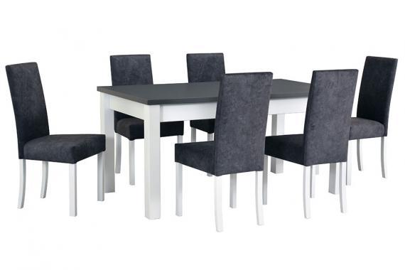 MORO jedálenská zostava | 1x stôl + 6x stoličky