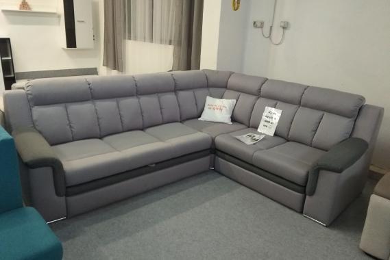 ISABEL luxusná rohová sedačka s funkciou rozkladu a úložným priestorom   VÝPREDAJ