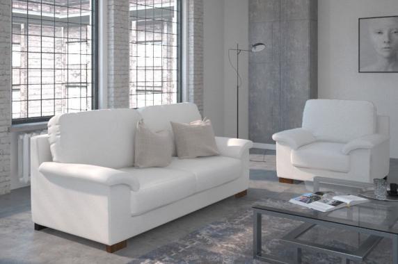 PALOMA 3-Sitzer-Sofa für regelmäßiges Schlafen