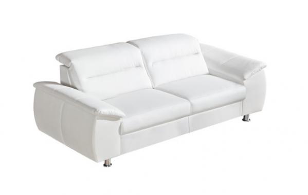 PERLA 3 luxusní pohovka s polohovacími záhlavníky | možnost pravé kůže