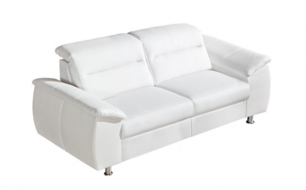 PERLA 2 luxusní pohovka s polohovacími záhlavníky | možnost pravé kůže