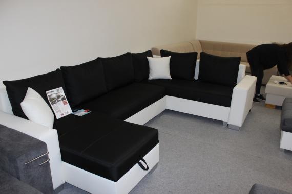 ARMANI rozkladacia sedacia súprava v tvare U | VÝPREDAJ