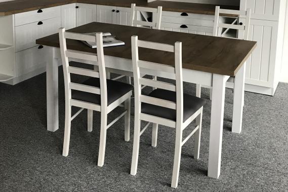 FRANCE jídelní stůl v provensálském stylu - výprodej