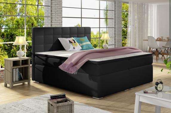 ALICIE 180x200 boxspring posteľ s úložným priestorom
