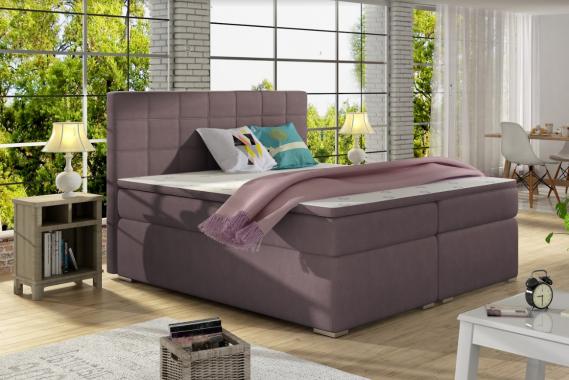 ALICIE 160x200 boxspring postel s úložným prostorem