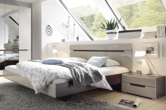ROSIE 180x200 manželská postel s lesklým dekorem | 2 dekory