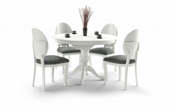 WILLIAM rozkládací jídelní stůl v rustikálním stylu | 2 dekory