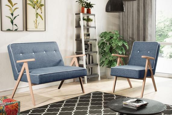 ADENIKE minimalistická sedacia súprava 2+1