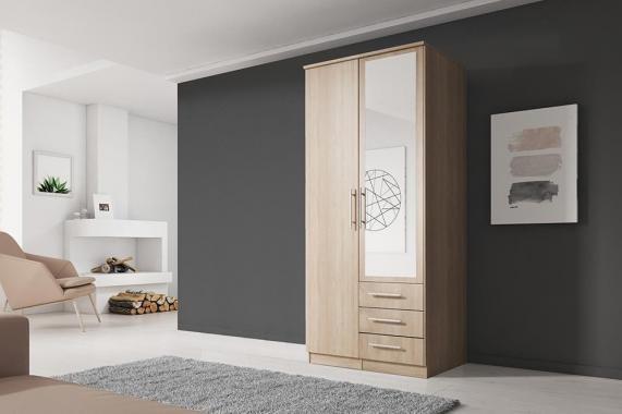 ALEX 2D šatní skříň v dekoru dub sonoma