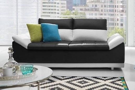 MANILLA Sitzgarnitur: 2-Sitzer Sofa + 3-Sitzer Sofa, zusätzlich verstellbare Kopfstützen