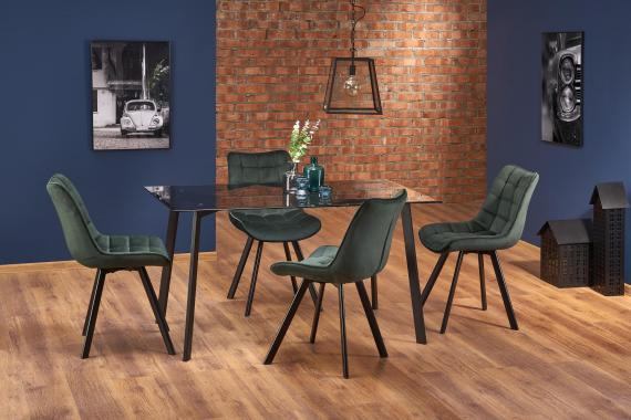 TRAX jedálenská zostava | jedálenský stôl + 4x stoličky