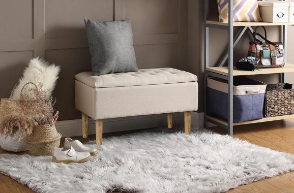 CLEO moderná taburetka s úložným prostorem