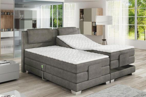 CLEA boxspring postel 180x200 s elektrickým polohováním