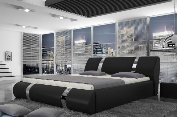 ATLANTIDA 140x200 moderná manželská posteľ