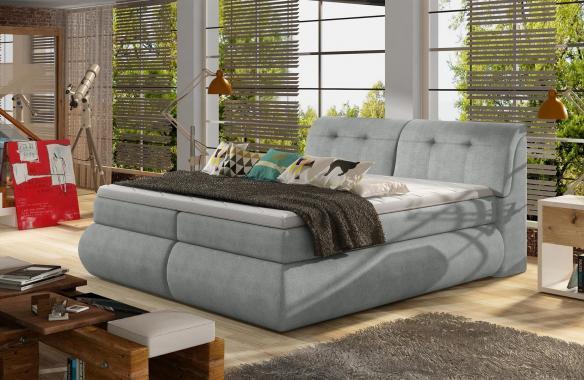 ELECTRA boxspring posteľ 140x200 s úložným priestorom