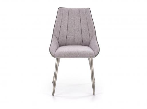 K-311 čalouněná jídelní židle, šedá