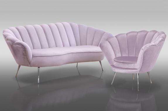 VIOLETTA 3+1 sedacia súprava v glamour štýle