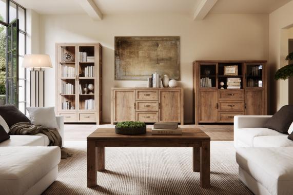 NORMEN obývací program v provensálském stylu, dekor dub lefkas