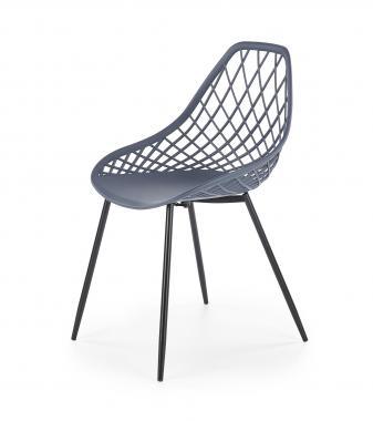 K-330 moderní jídelní židle na kovových nožkách | VÍCE BAREV