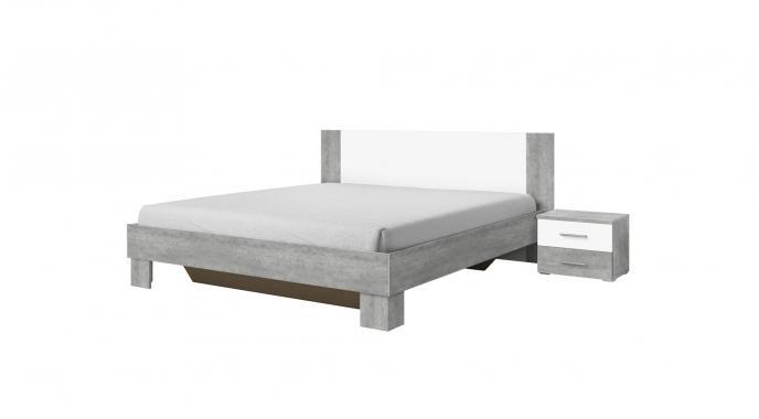 JASMINE 160X200 manželská posteľ s nočnými stolíkmi | 6 dekorov