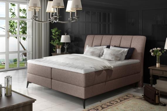 MARILYN 140x200 elegantná boxspring posteľ s úložným priestorom