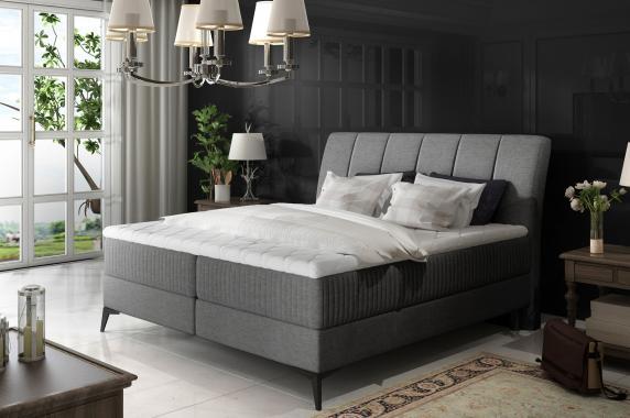 MARILYN 160x200 elegantní boxspring postel s úložným prostorem