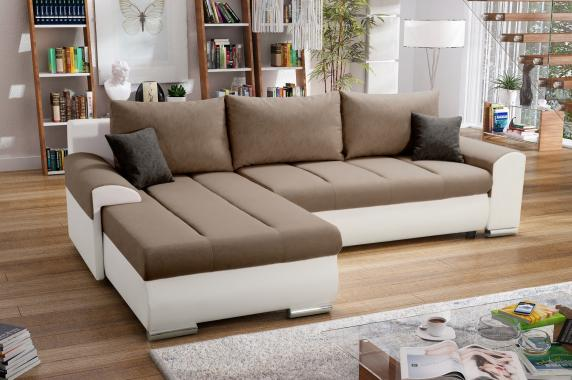 DOLORES designová rozkládací sedací souprava s úložným prostorem