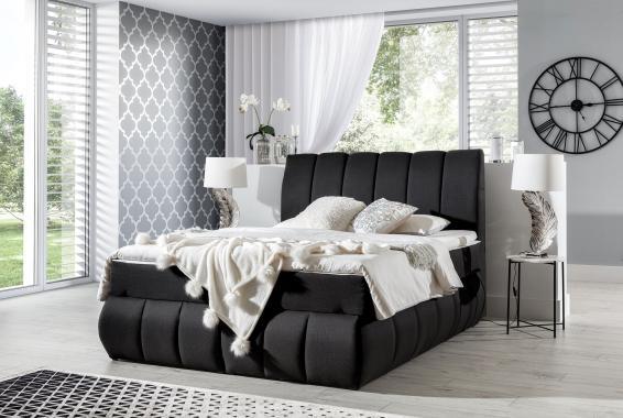 GABRIELA kontinentální postel boxspring s úložným prostorem | 3 rozměry