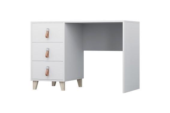 SEVERA bílý psací stůl