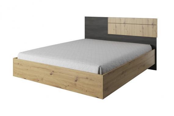 LARNAKA moderní manželská postel 160x200