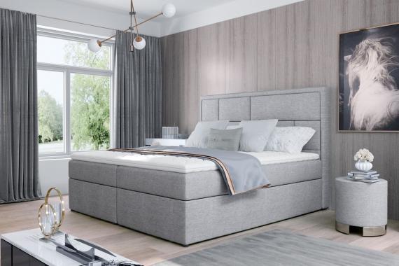 MILKA 140x200 boxspring posteľ