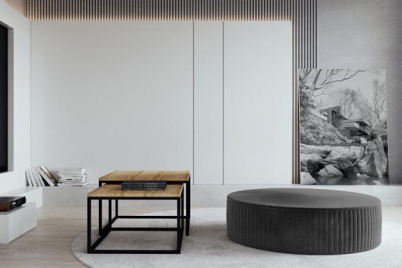 ANTALYA minimalistický taburet