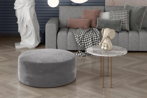 SEGONIA minimalistický taburet