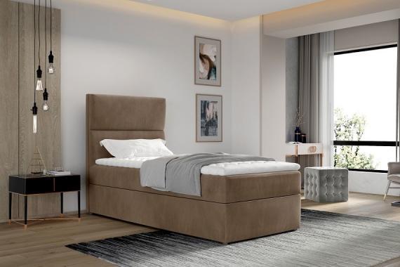 TRENTO boxspring posteľ 90x200 s úložným priestorom