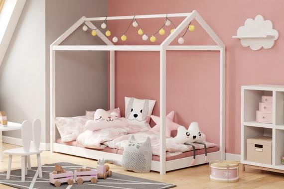 YOGI detská posteľ 80x200 v tvare domčeka