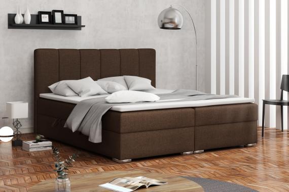 DENALI kontinentálna posteľ boxspring 160x200 s úložným priestorom
