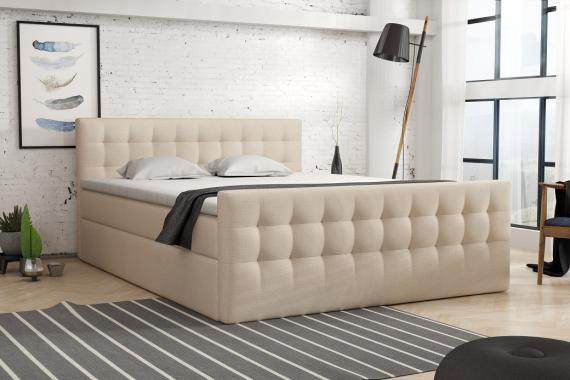 HEINE kontinentálna posteľ boxspring 140x200