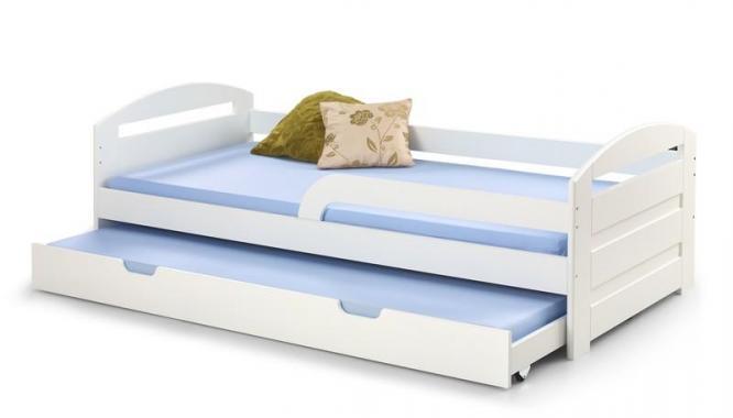 NATALIE detská posteľ s výsuvnou prístelkou